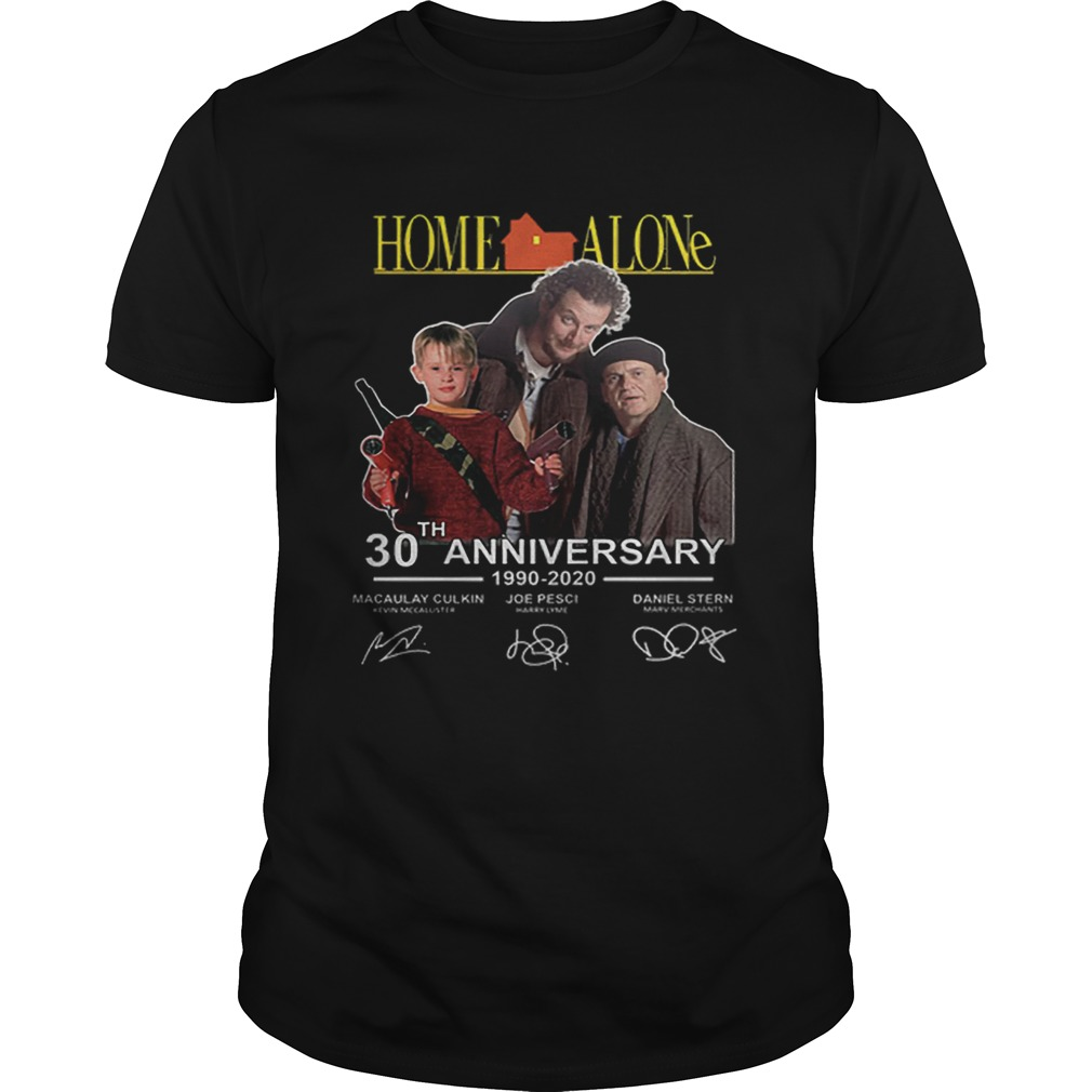 Home Alone 30th anniversary 19902020 Macaulay Culkin signatures  Unisex