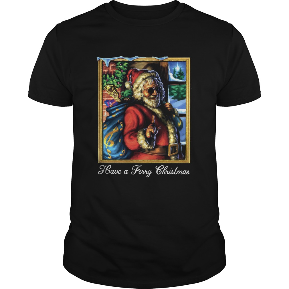Jerry Garcia Have A Jerry Christmas  Unisex