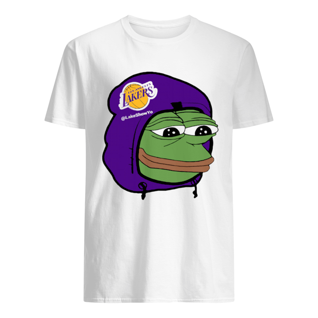 Los Angeles Lakers Sad Pepe the Frog shirt