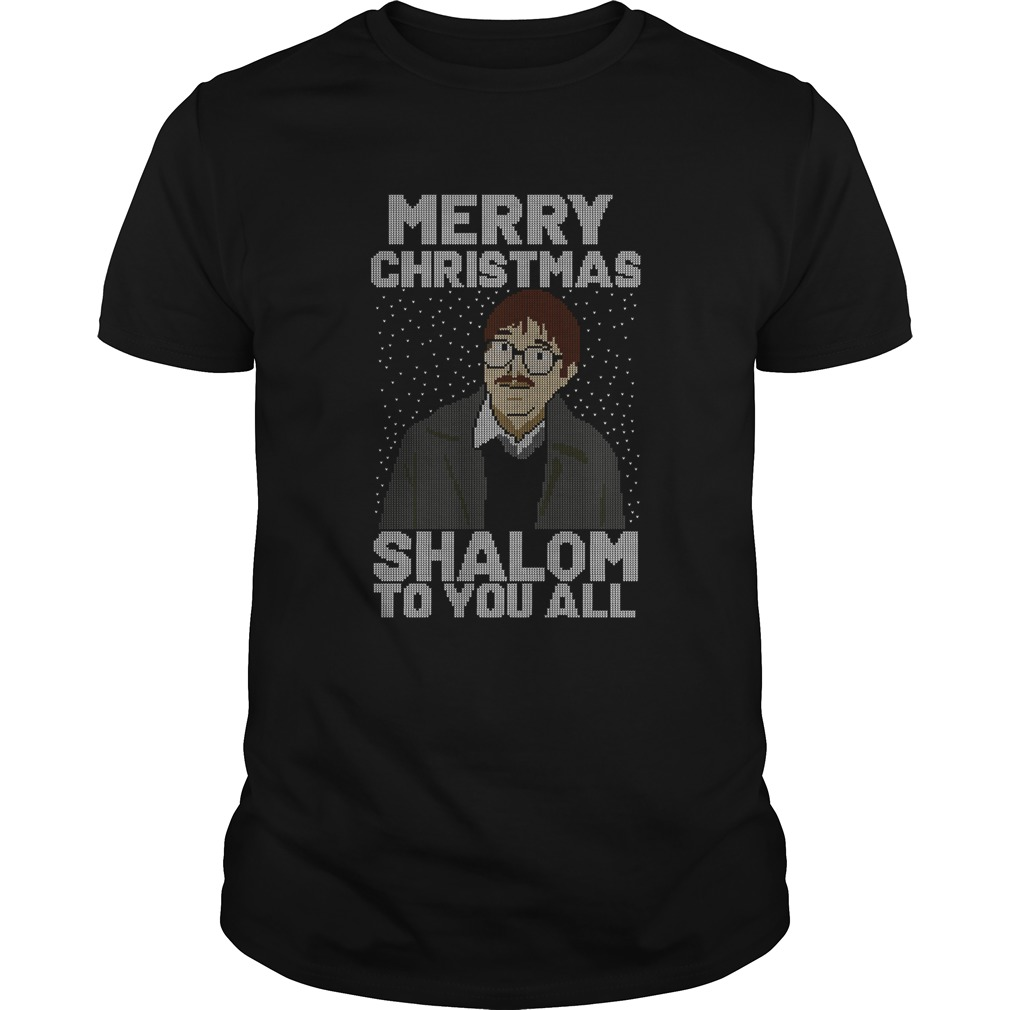 Merry Christmas Shalom To You All shirt