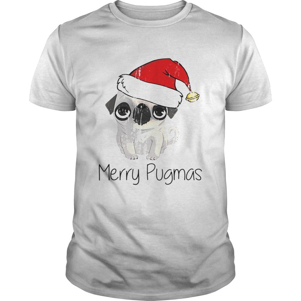 Merry Pugmas Pug Dog Christmas Time Pug Love shirt
