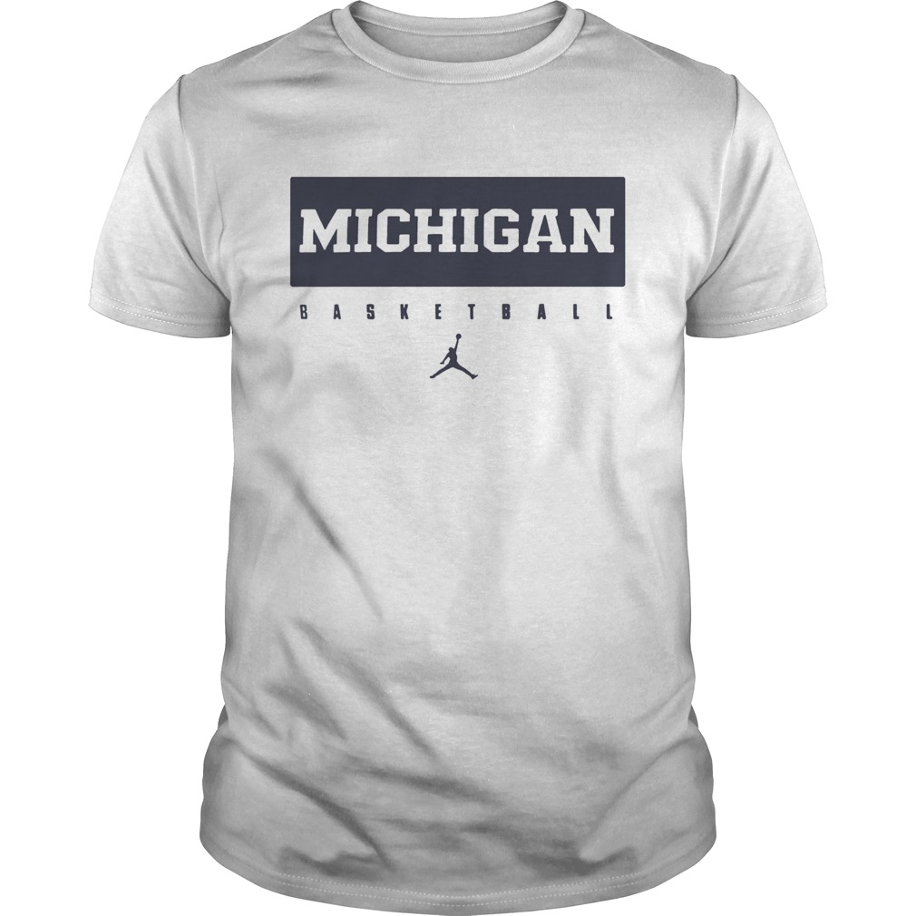 Michigan Wolverines Maize Basketball Legend  Unisex