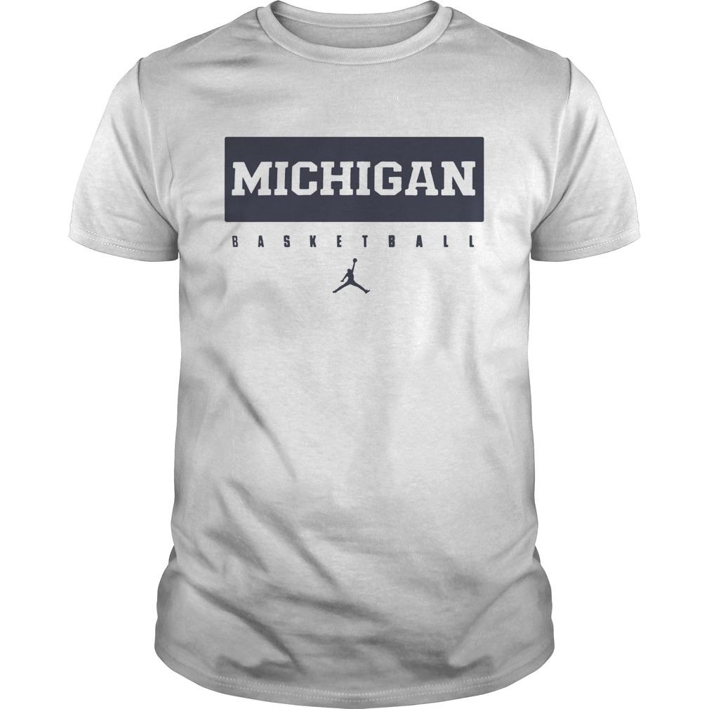 Michigan Wolverines Maize Basketball Legend  Unisex