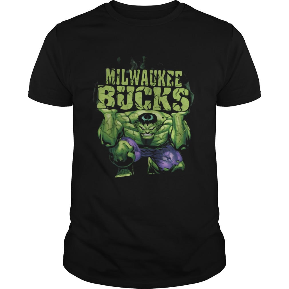 Milwaukee Bucks NBA Basketball Incredible Hulk Marvel Avengers  Unisex