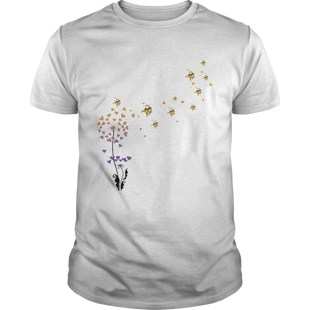 Minnesota Vikings dandelion flower  Unisex