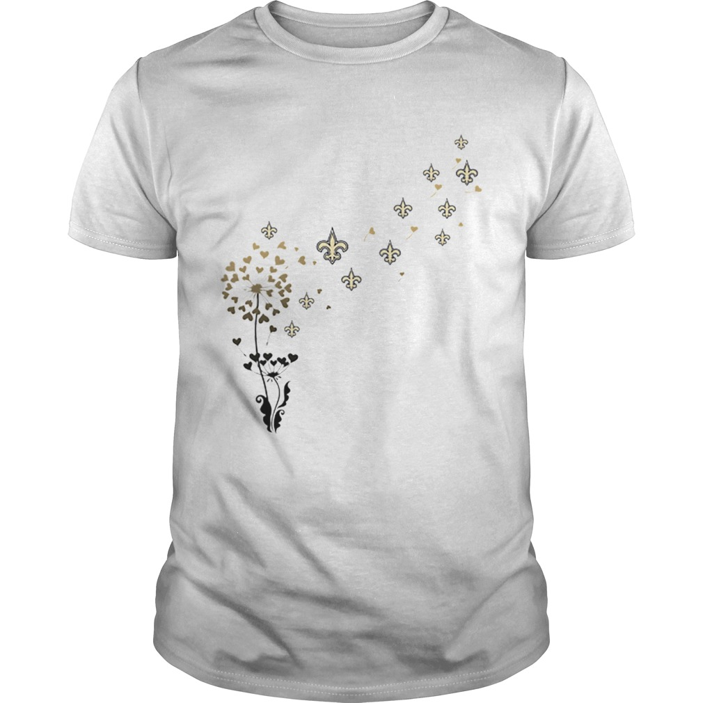New Orleans Saints dandelion flower  Unisex