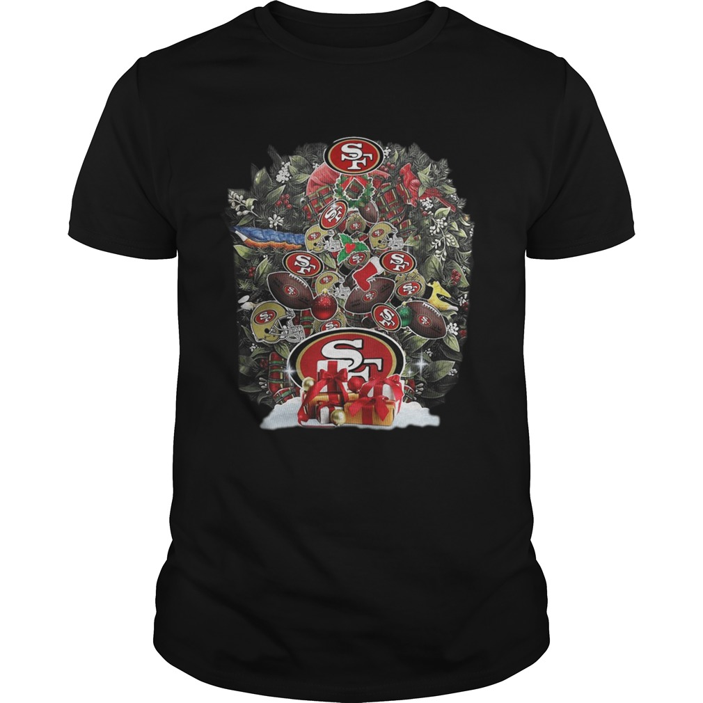 NFL San Francisco 49ers Tree Christmas  Unisex