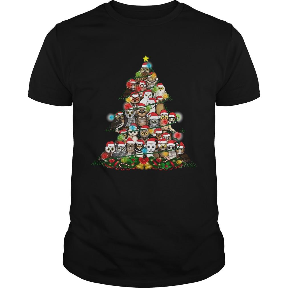Owls Christmas Tree  Unisex