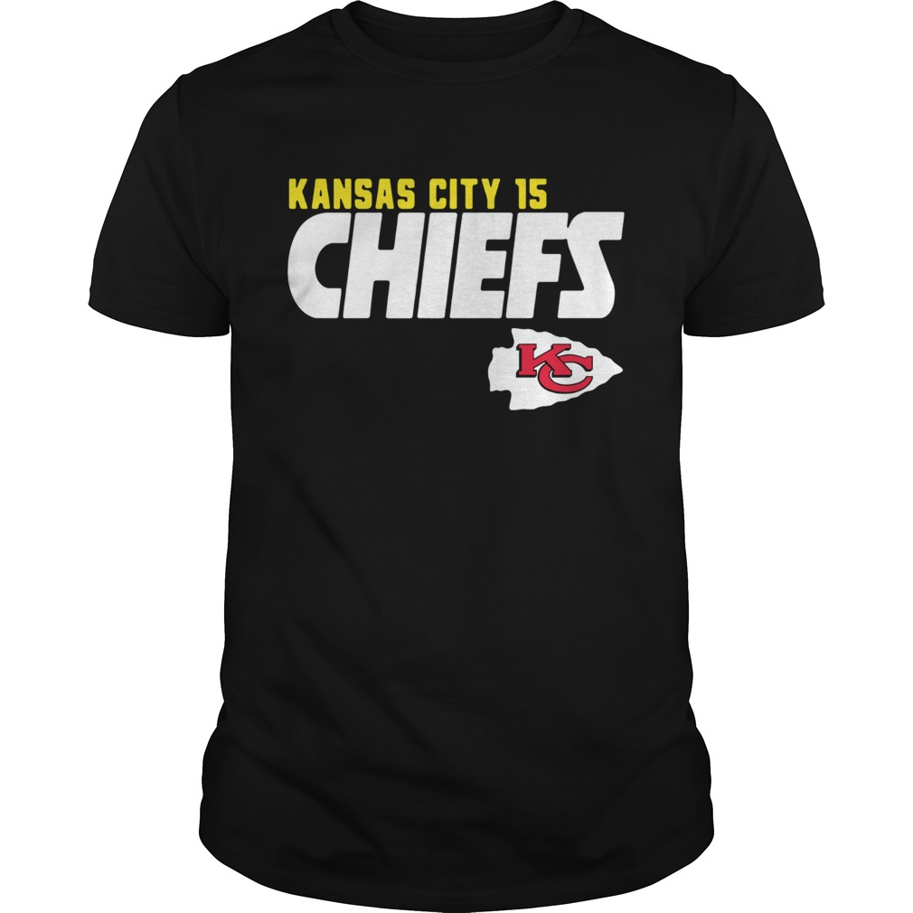 Patrick Is Mahomie 15 Kansas City Chiefs  Unisex