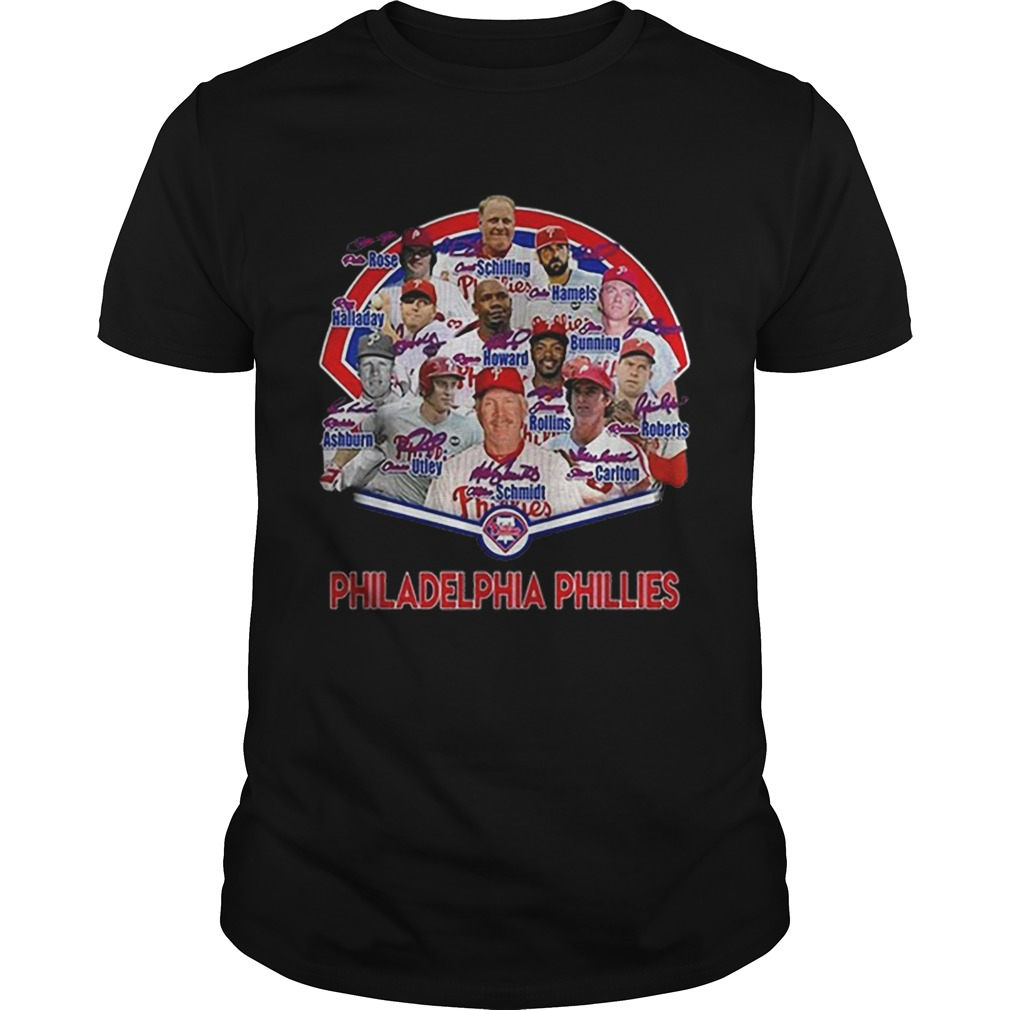Philadelphia Phillies players name shirt