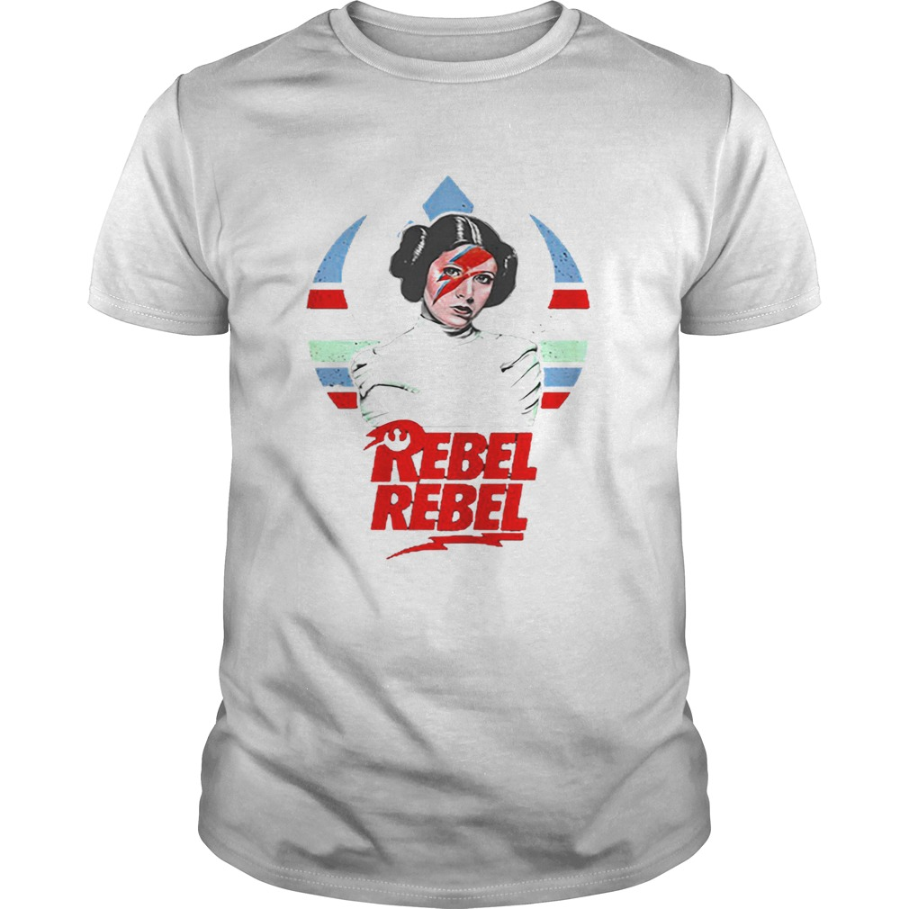 Princess Leia David Bowie Rebel Rebel  Unisex