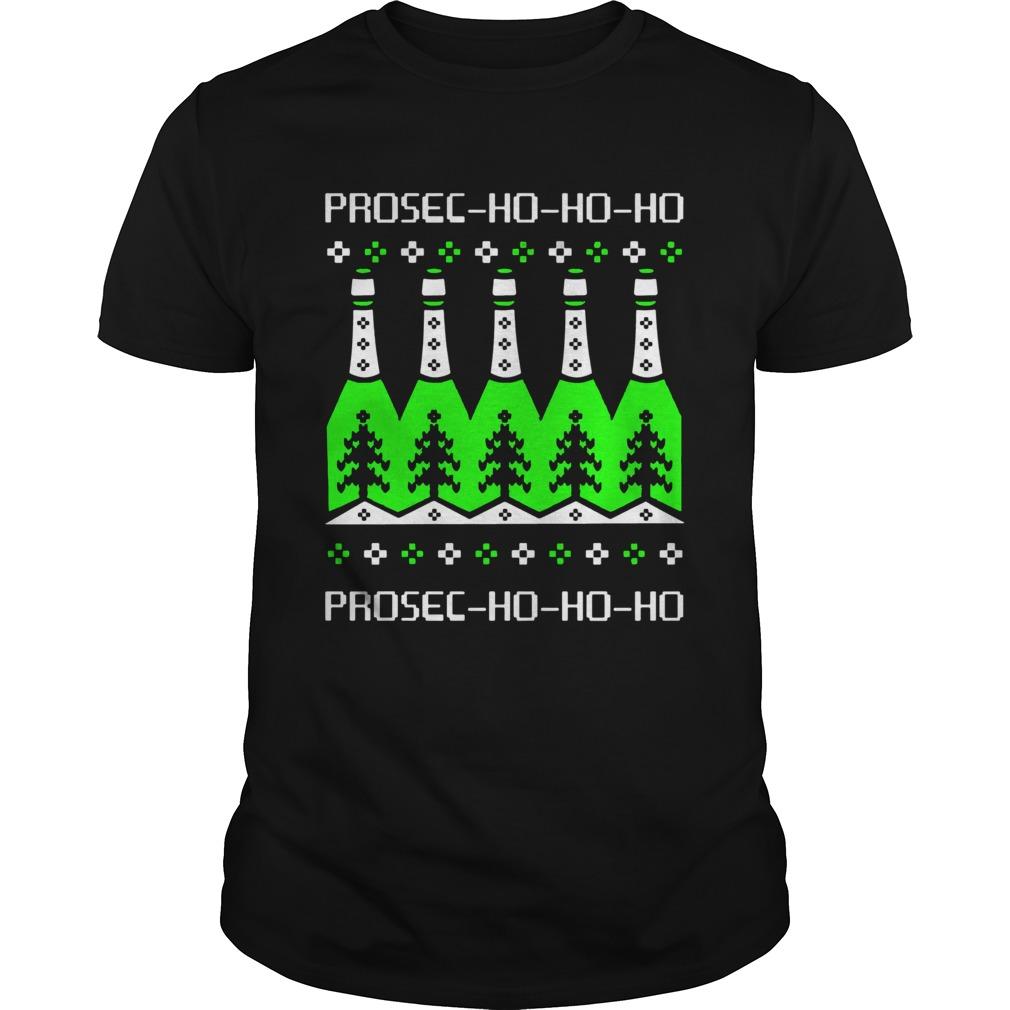 Prosecco Ho Ho Ho Christmas Day Beer  Unisex