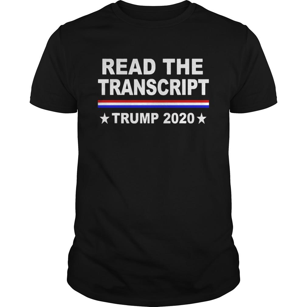 Read the Tran Trump 2020  Unisex