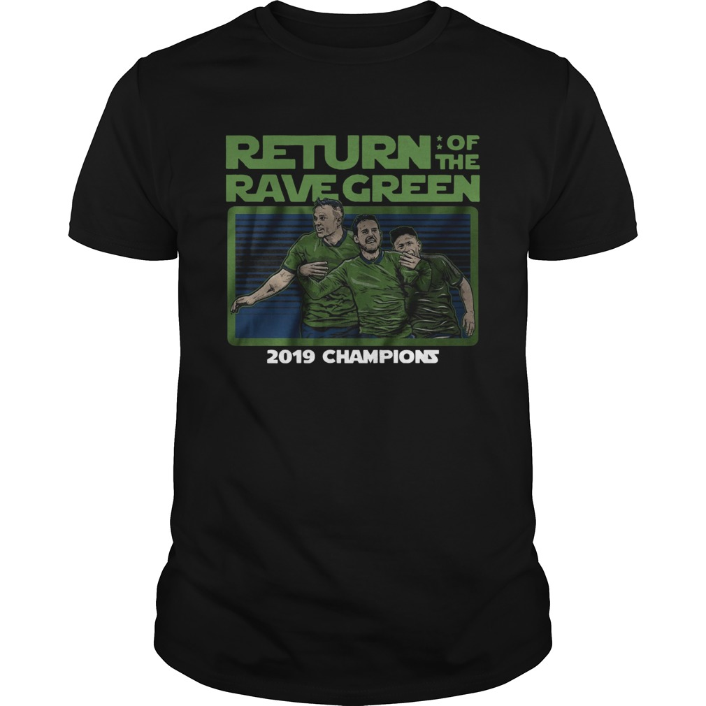 Return of the rave green 2019 champions  Unisex