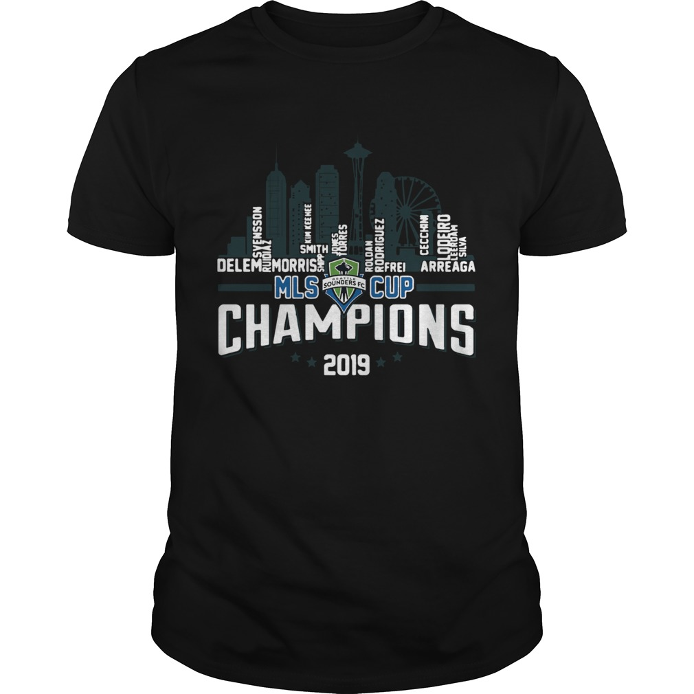 Seattle Sounders MLS Cup Champions 2019 Building  Unisex