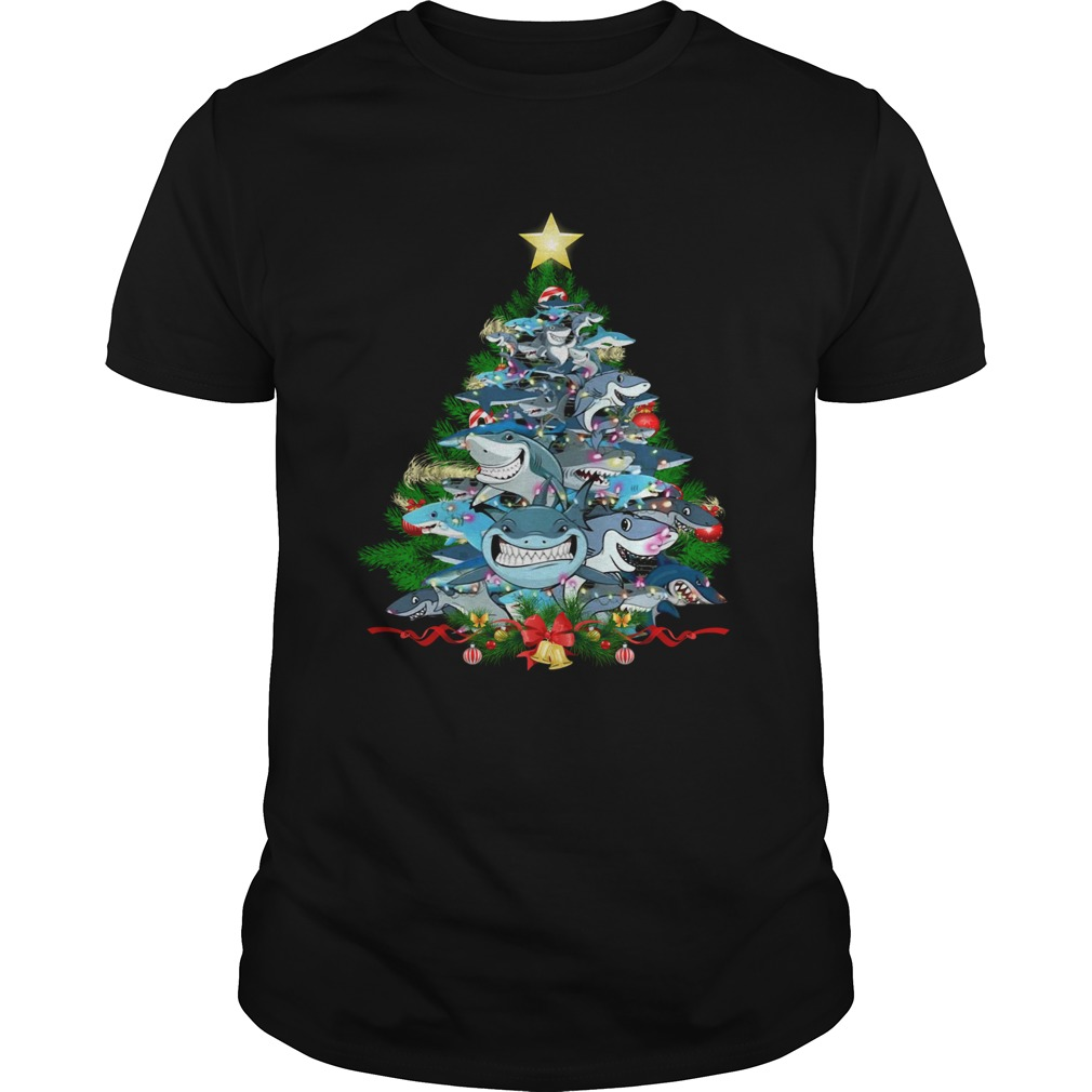 Shark Christmas Tree  Unisex