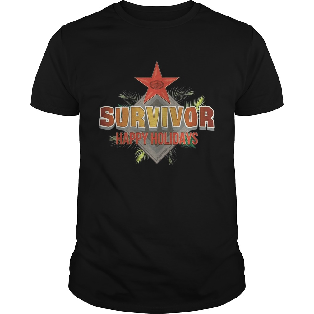 Survivor Happy Holidays Christmas  Unisex