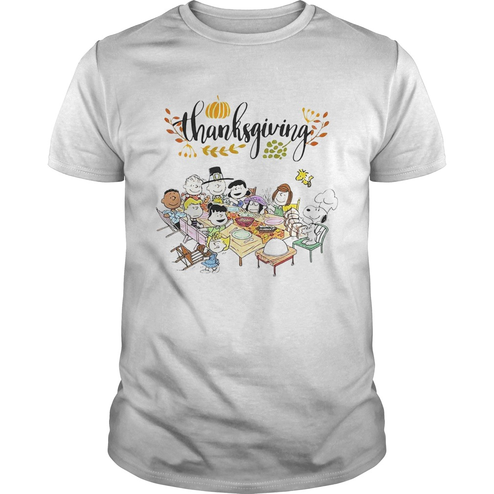 Thanksgiving Snoopy and friends party  Unisex