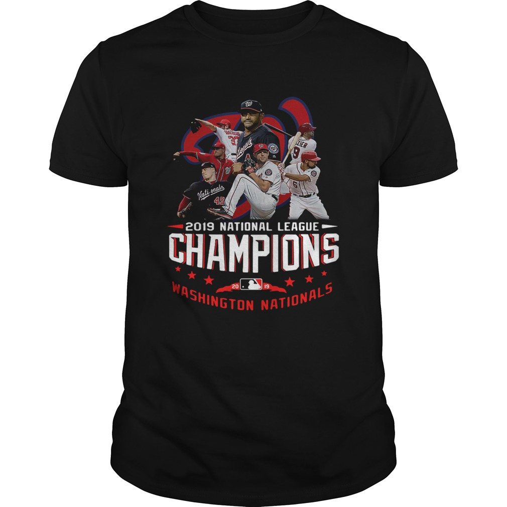 The Best Players 2019 National League Champions Washington Nationals  Unisex