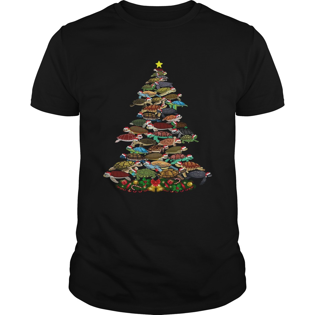 Turtles Christmas Tree shirt