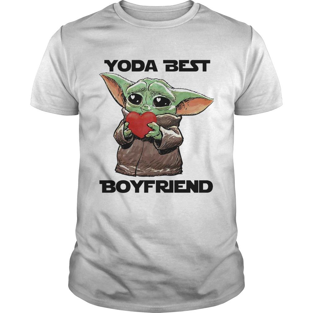 Baby Yoda Best Boyfriend  Unisex