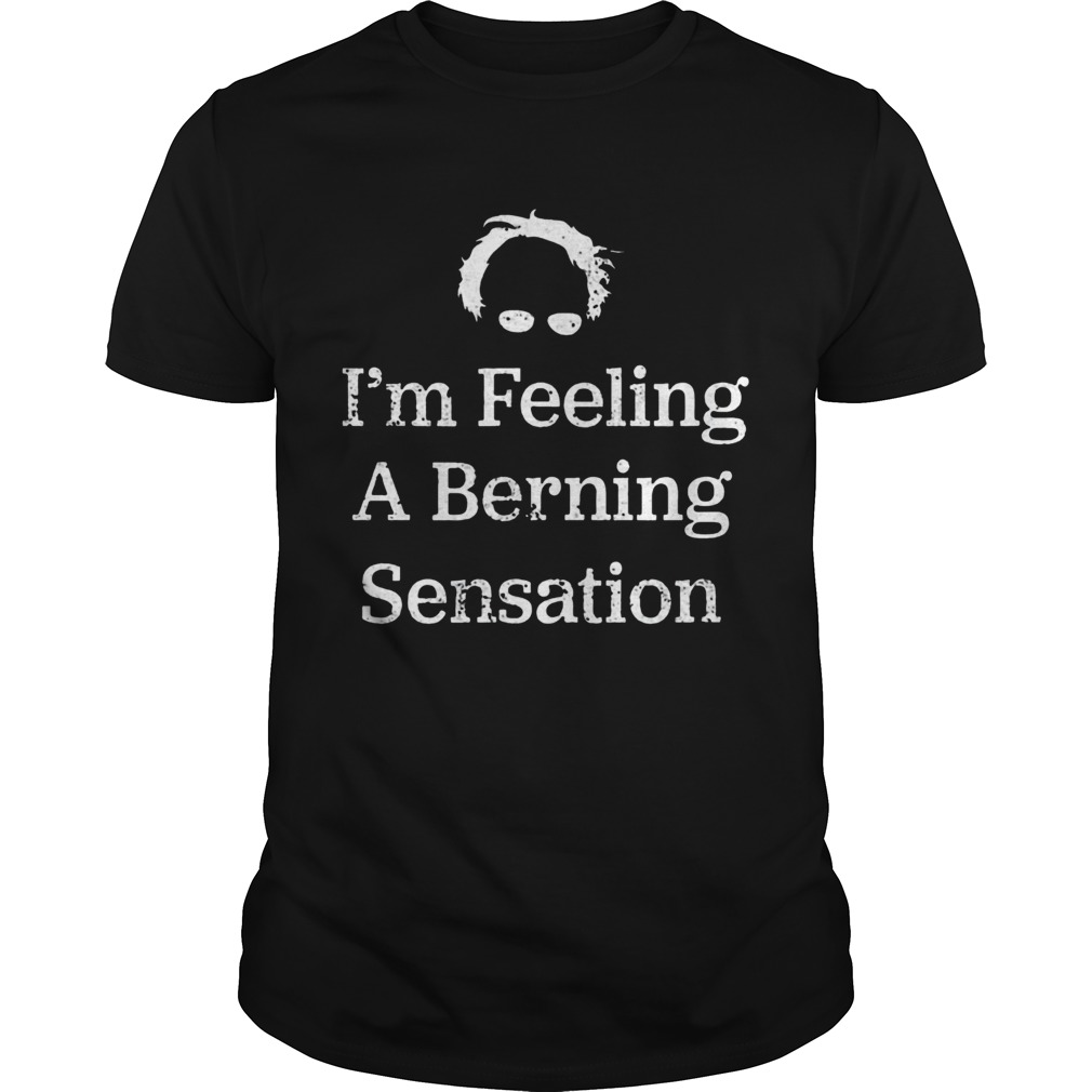 Bernie Sanders Im Feeling A Berning Sensation 2020  Unisex