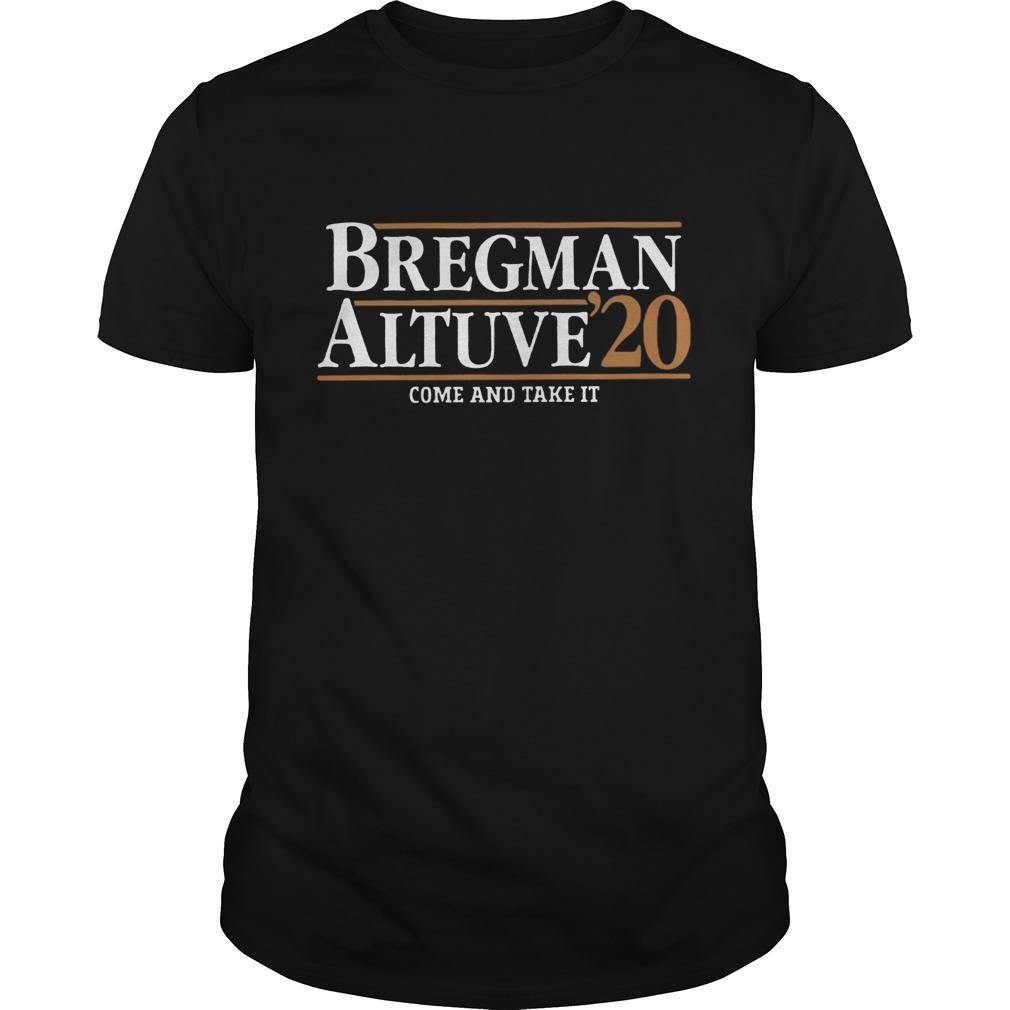 Bregman Altuve 2020  Unisex