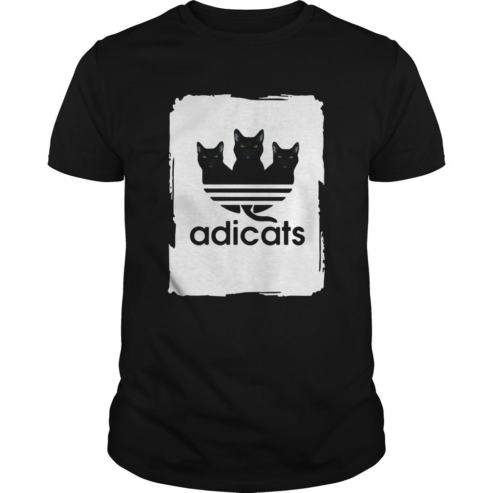 Cats black Adicats  Unisex