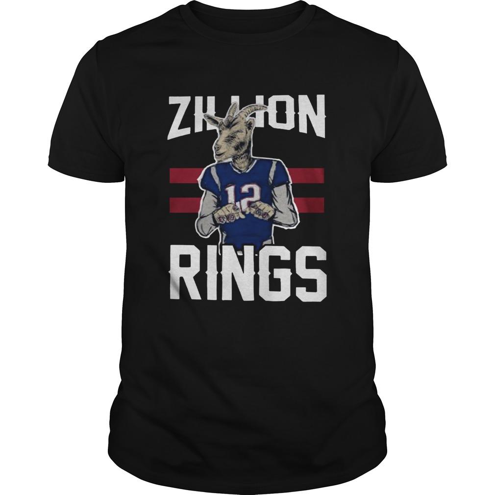 Goat 12 Zillion Rings  Unisex