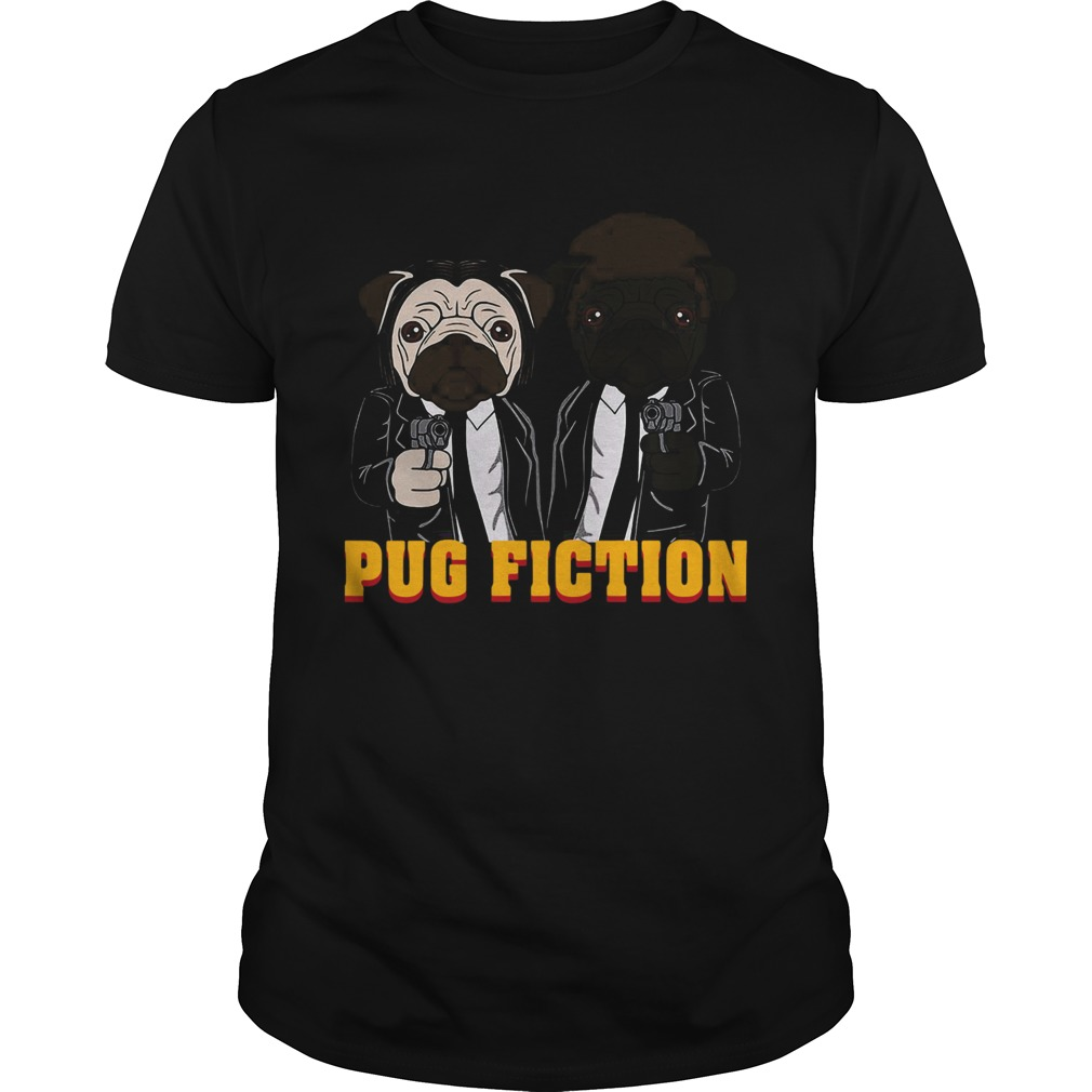 John Wick Pug Fiction  Unisex