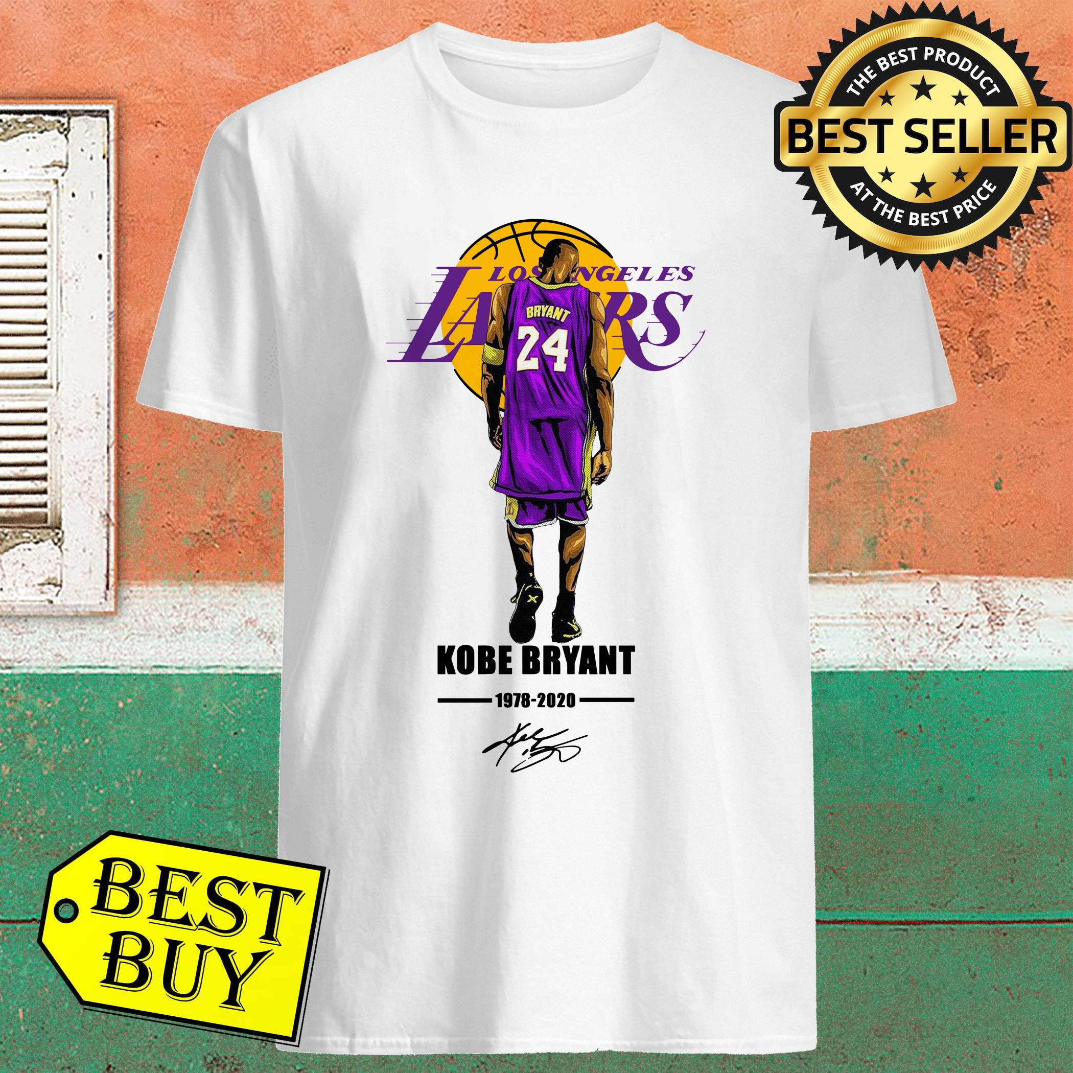 Los Angeles Lakers Rip Kobe Bryant 1978-2020 Signature Shirt