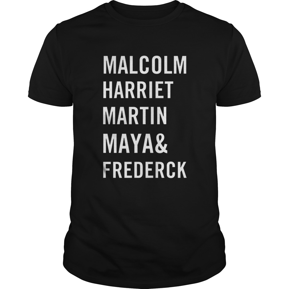 Malcolm harriet martin maya and frederick  Unisex