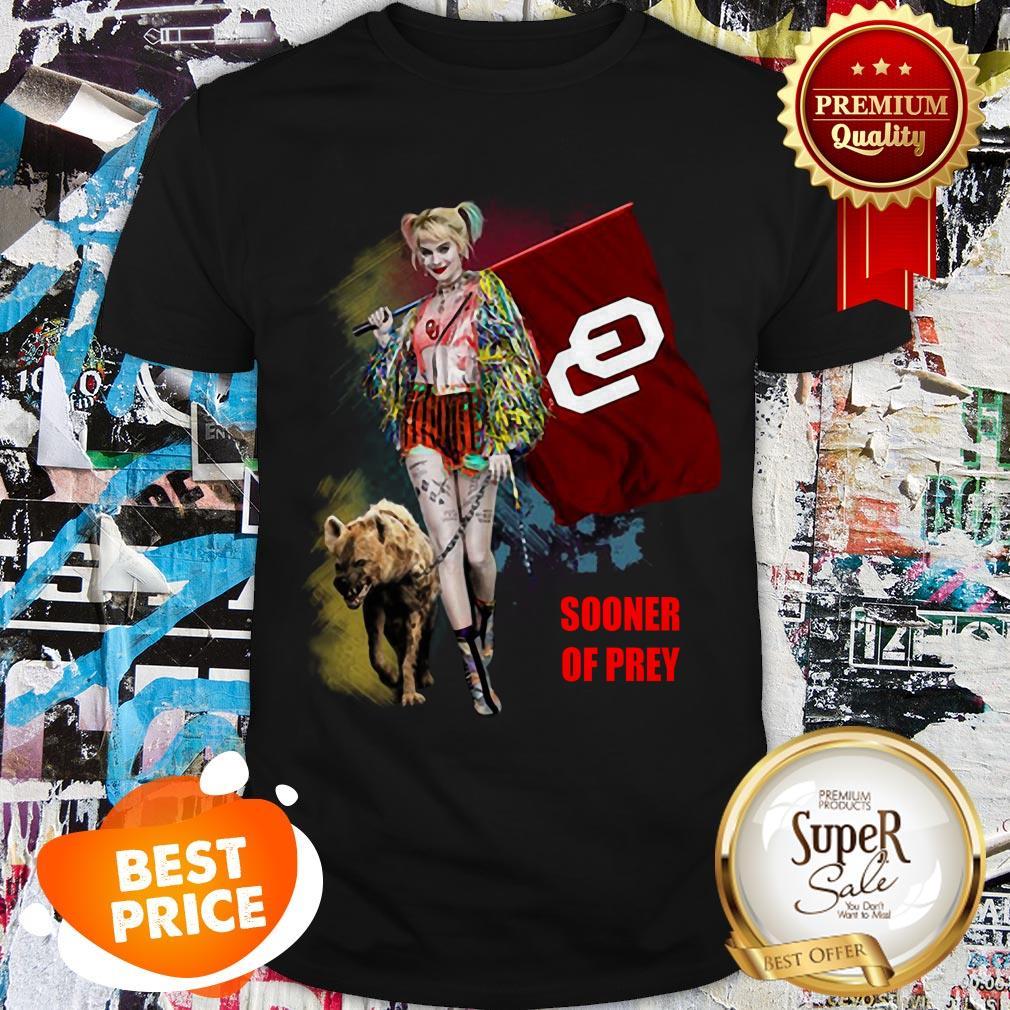 Nice Harley Quinn Oklahoma Sooners Of Prey Shirt