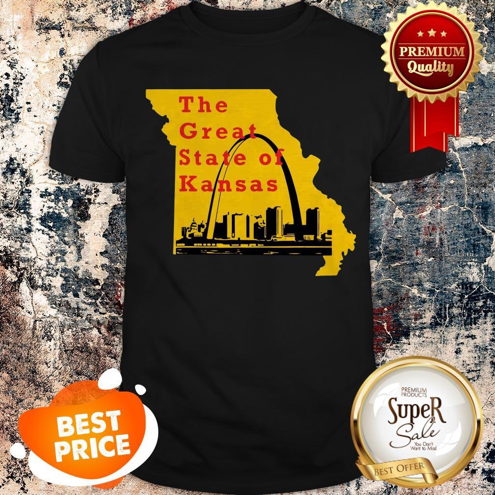 Nice The Great State of Kansas Trump Shirt