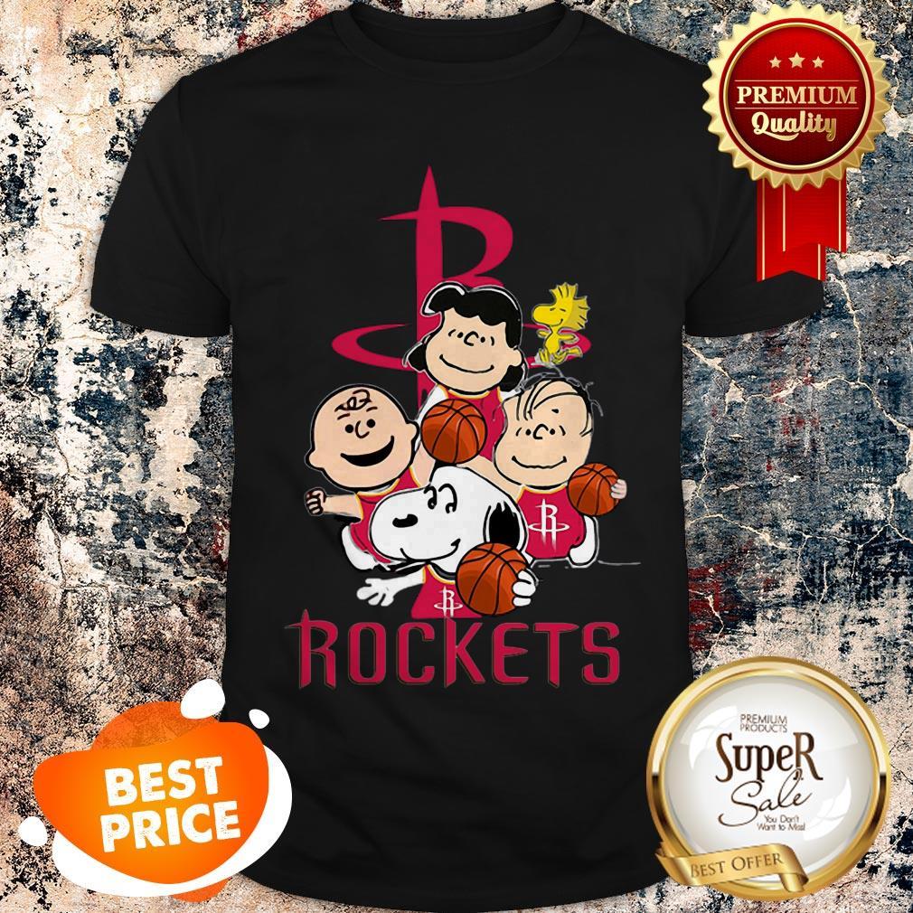 Nice The Peanut Houston Rockets Shirt