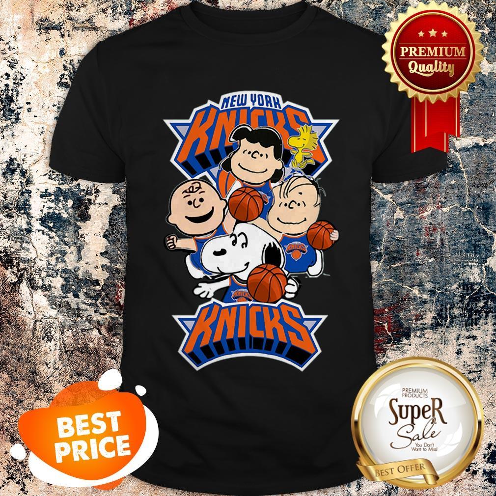 Nice The Peanut New York Knicks Shirt
