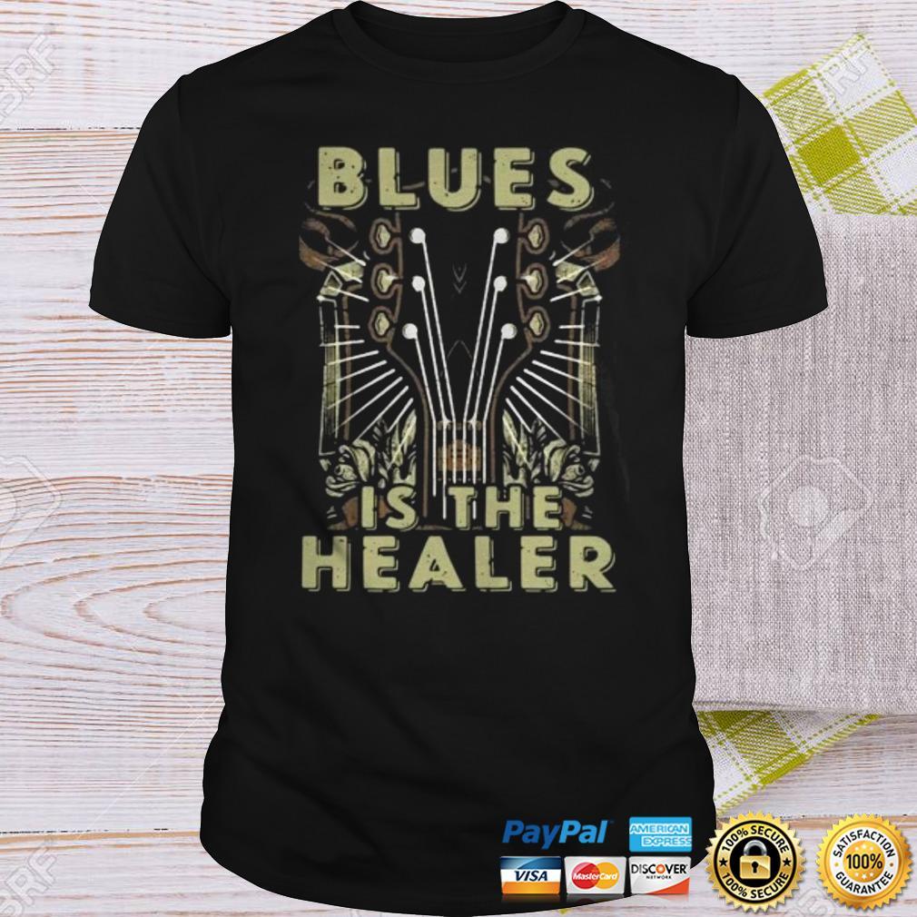 BLUES IS THE HEALER SHIRT Shirt