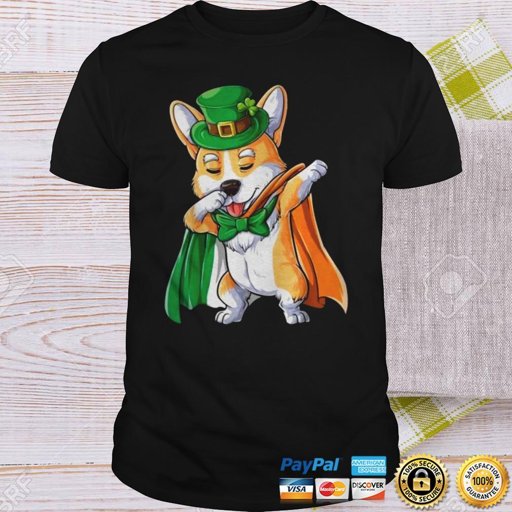 Corgi Dabbing St Patricks Day Shirt Shirt