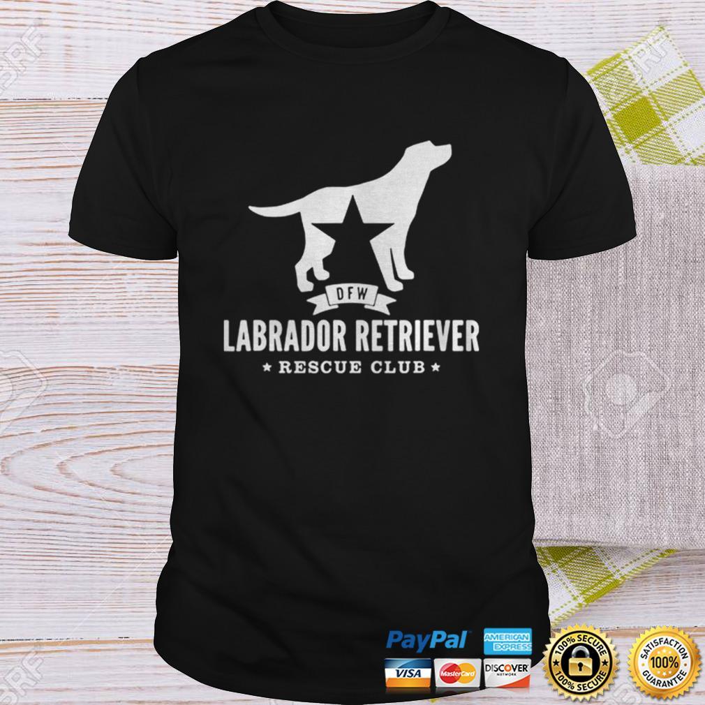 DFW Labrador Retriever Rescue Club White Logo Shirt Shirt