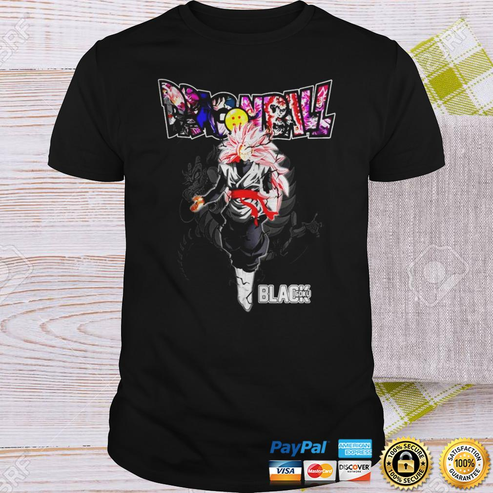 Dragon Ball Black Goku shirt Shirt