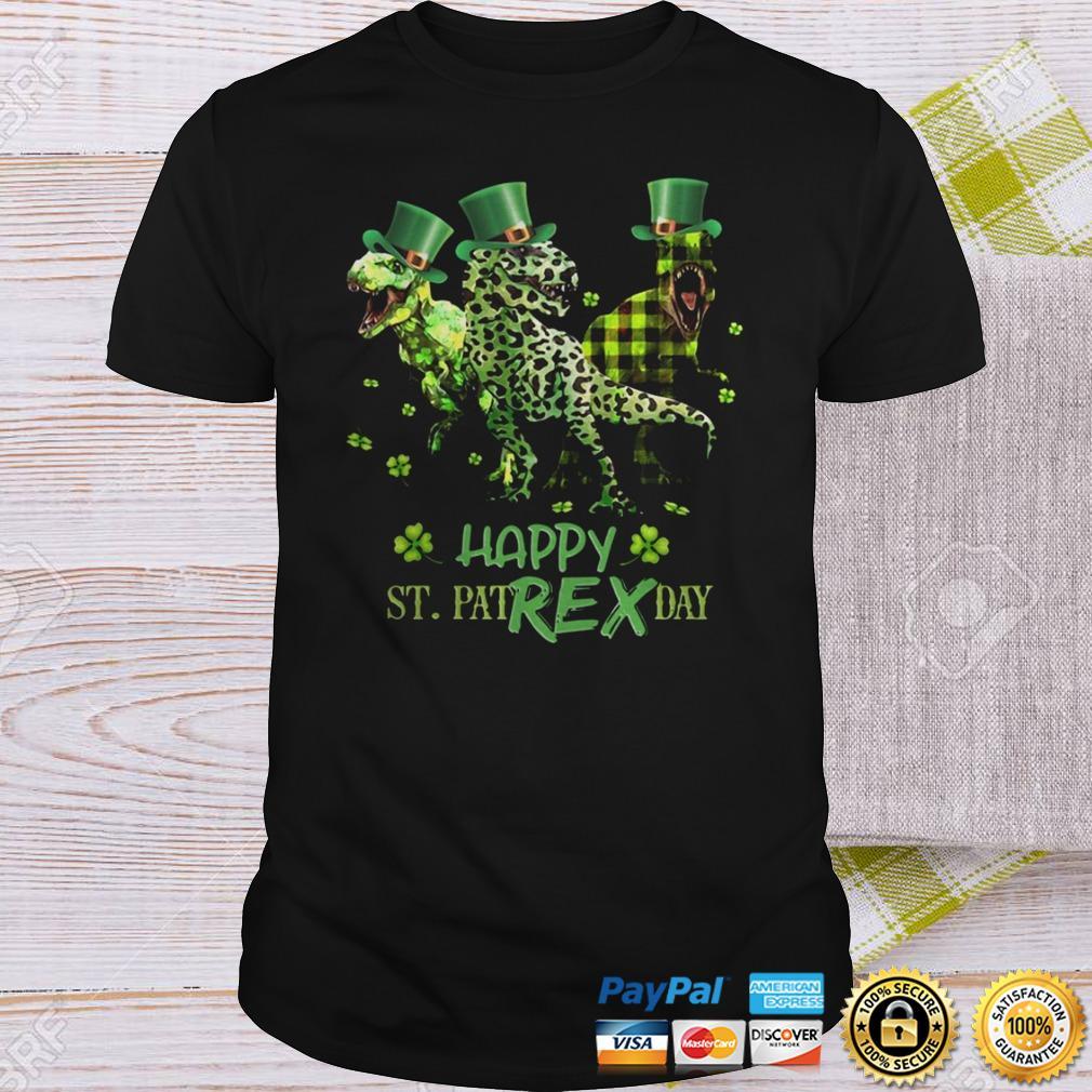 Rex Happy St Patricks Day Shirt Shirt