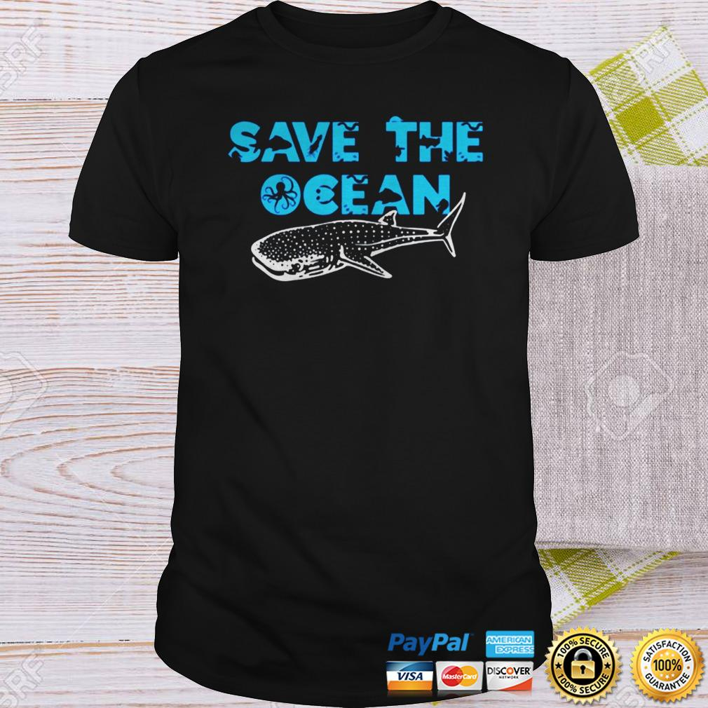 Sea and Ocean Environment Awareness Lovers TShirt Shirt
