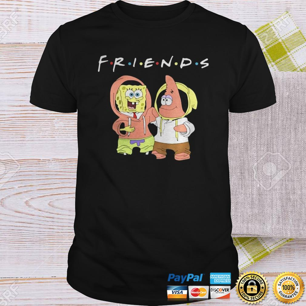 Spongebob And Patrick Friends Shirt Shirt