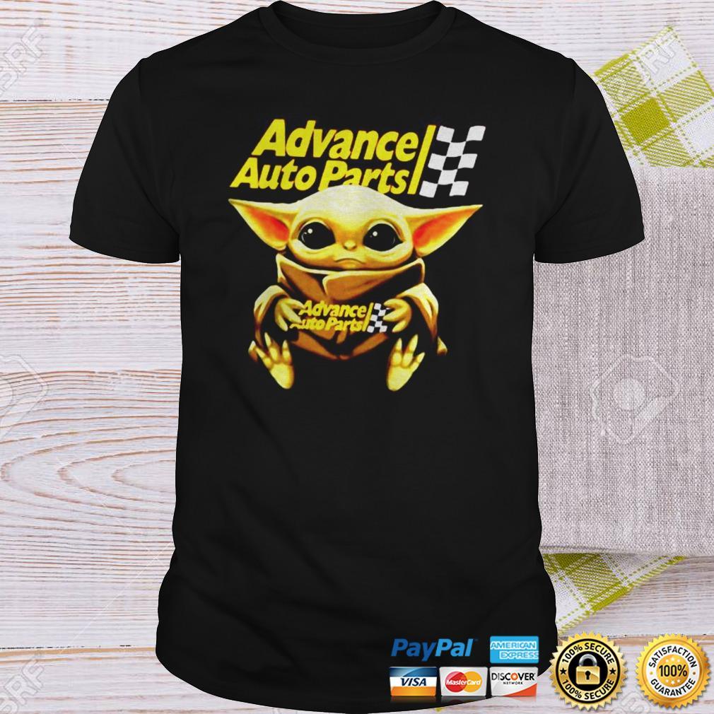 Star Wars Baby Yoda hug Advance auto parts shirt Shirt