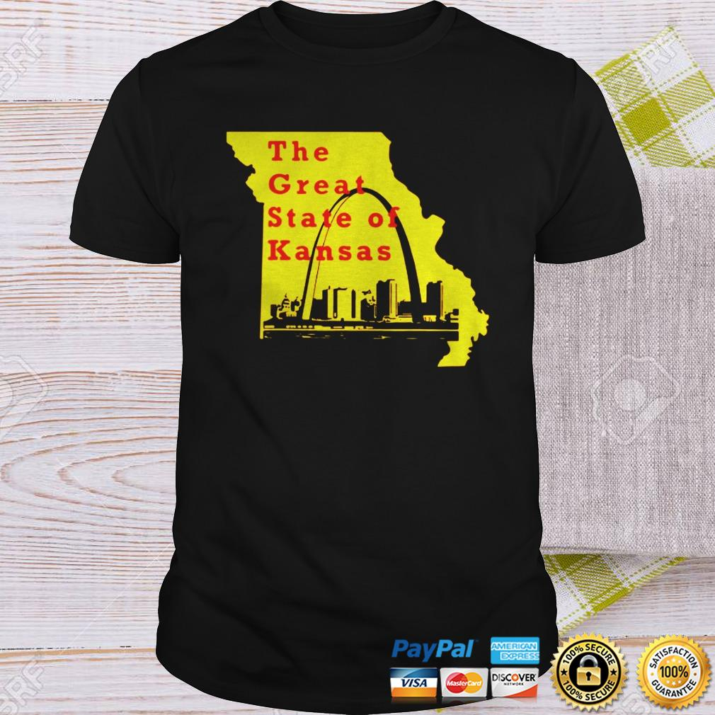 The Great State of Kansas Trump Shirt Shirt