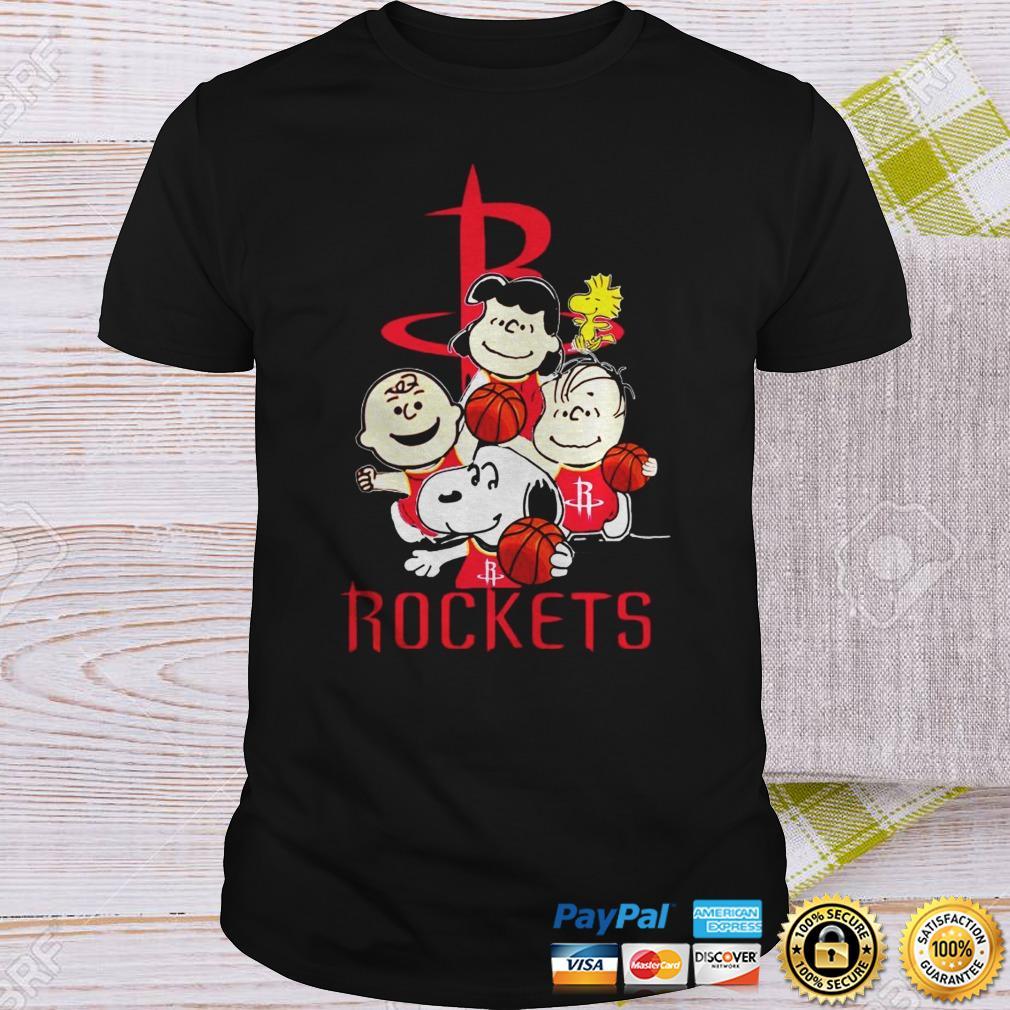 The Peanut Houston Rockets Shirt