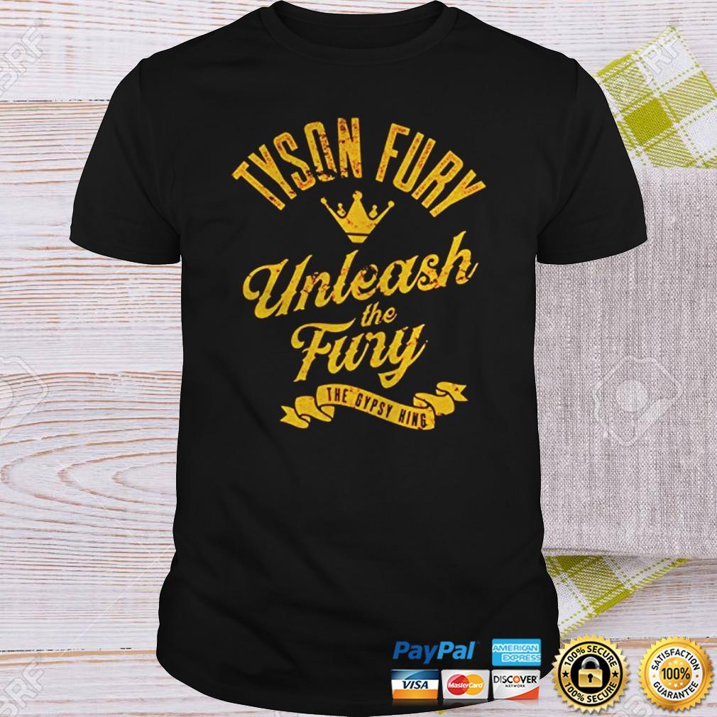 WWE Tyson Fury Unleash The Fury Authentic TShirt Shirt