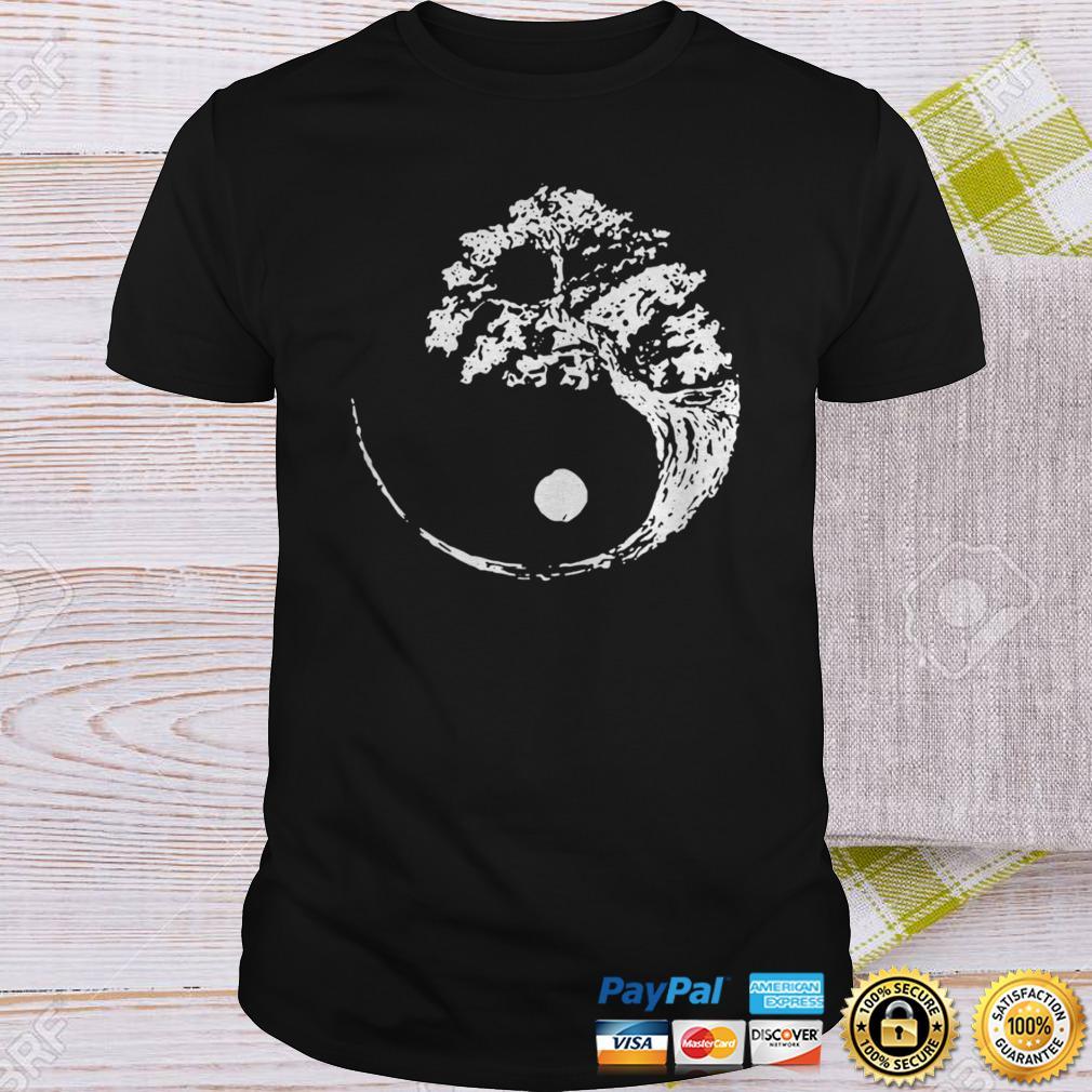Yin Yang Bonsai Tree Shirt Shirt
