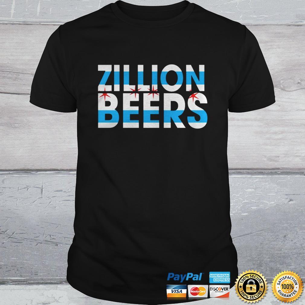 Zillion Beers CHI Flag Shirt Shirt