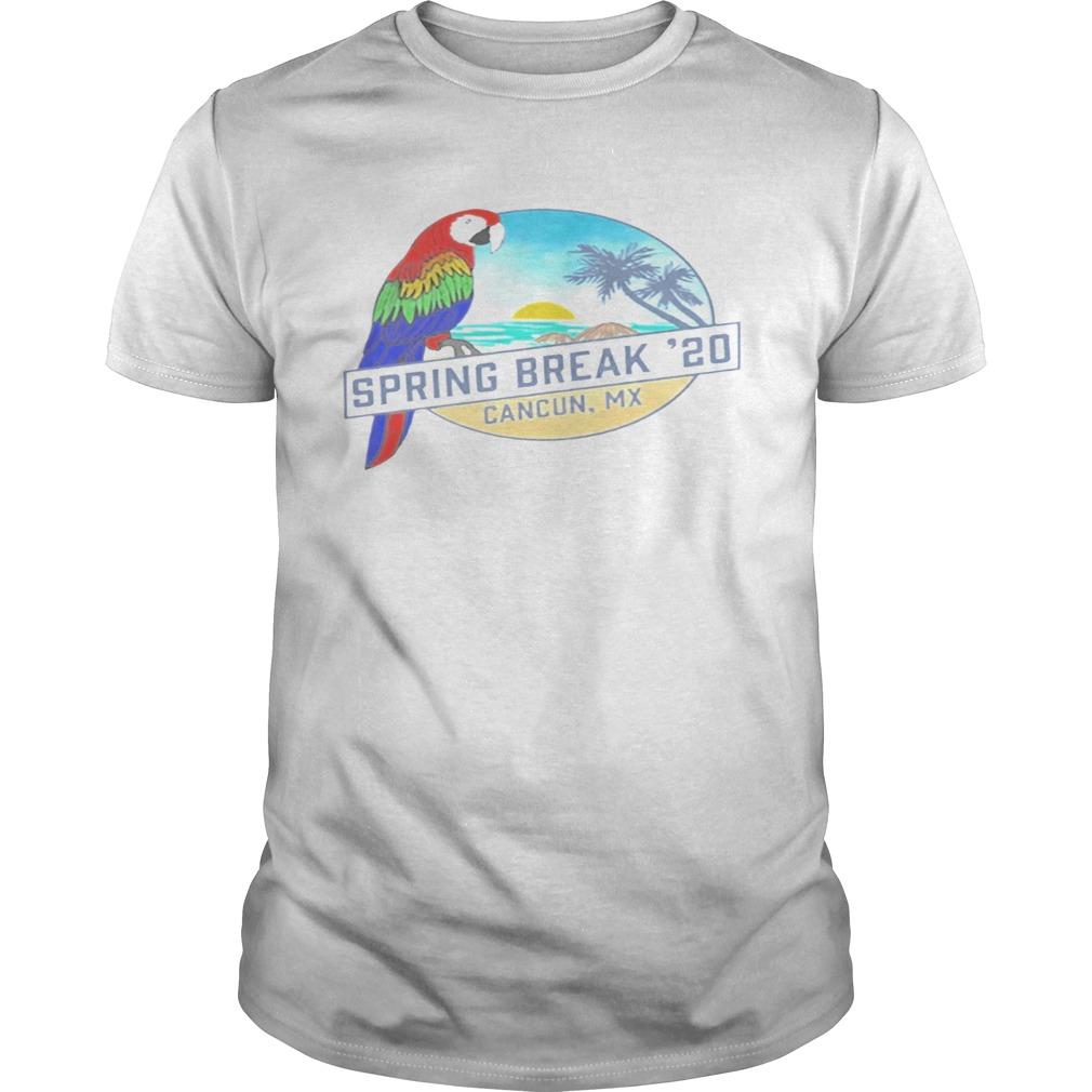 Spring Break 2020 Cancun Tank  Unisex